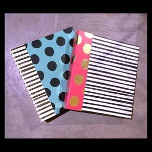 "Other - Two 3"" Super Cute Binders"
